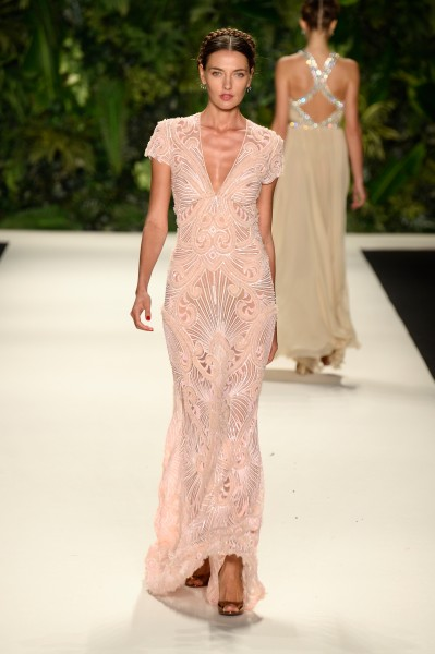 Naeem Khan - Runway - Mercedes-Benz Fashion Week Spring 2014
