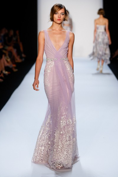 Badgley Mischka - Runway - Spring 2014 Mercedes-Benz Fashion Week