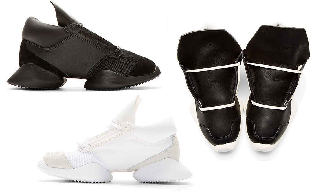 Collab Alert  Rick Owens  Futuristic Running Shoes for Adidas - FLARE 49dac4c40a