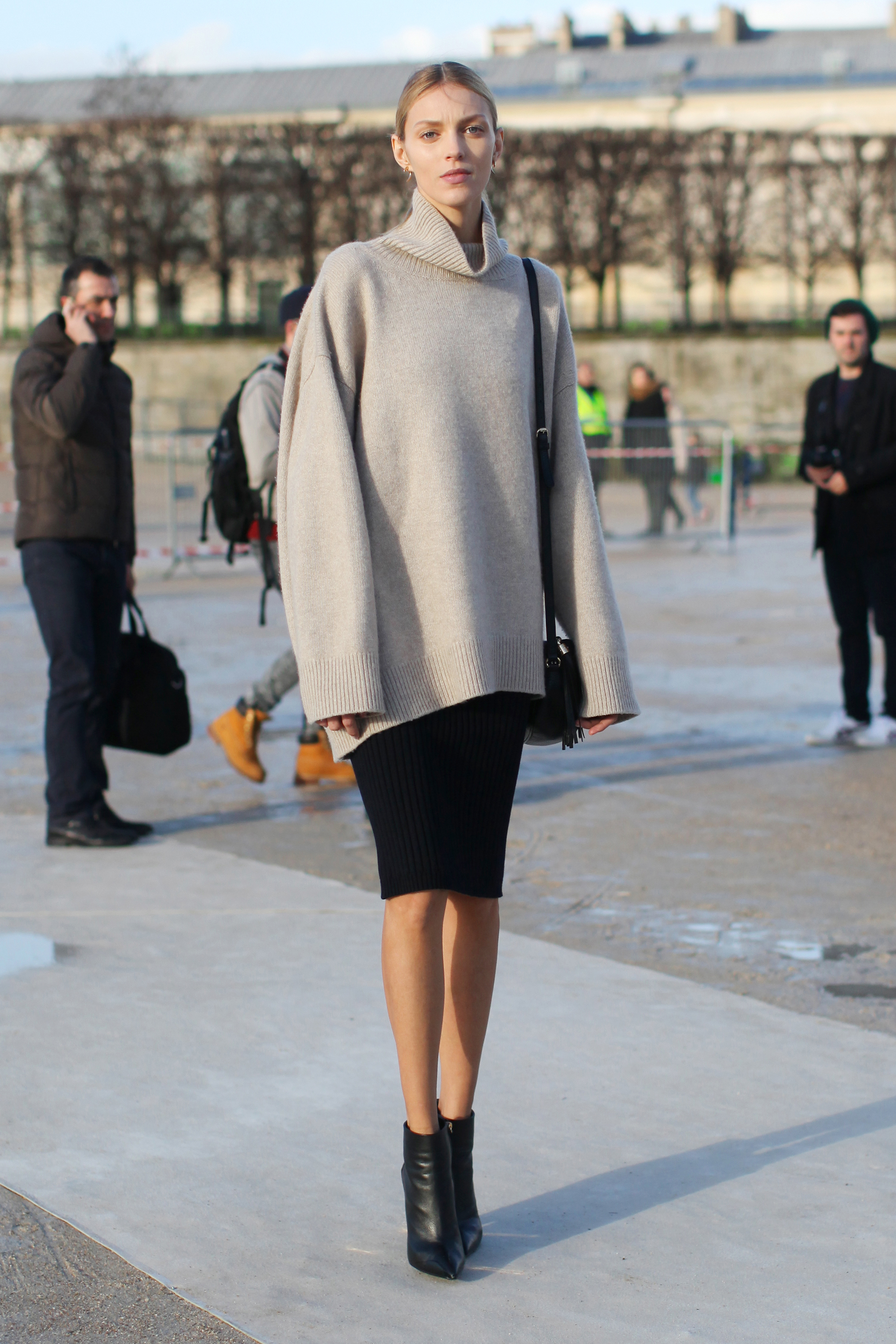 Paris fashion week street style flare for When is fashion week over