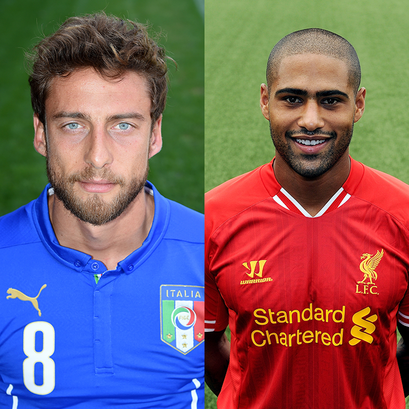 Hot Soccer Players Italy England