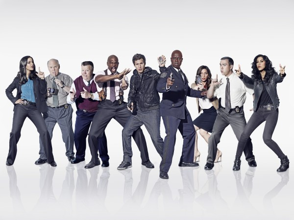 The cast of <i>Brooklyn Nine Nine</i>