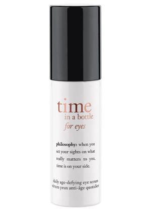 Time in a bottle for eyes