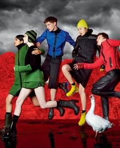 Hunter's fall campaign capture's the brand's new, energetic approach to British heritage style