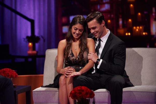 The Bachelor Canada's Tim Warmels and his fiancée April Brockman