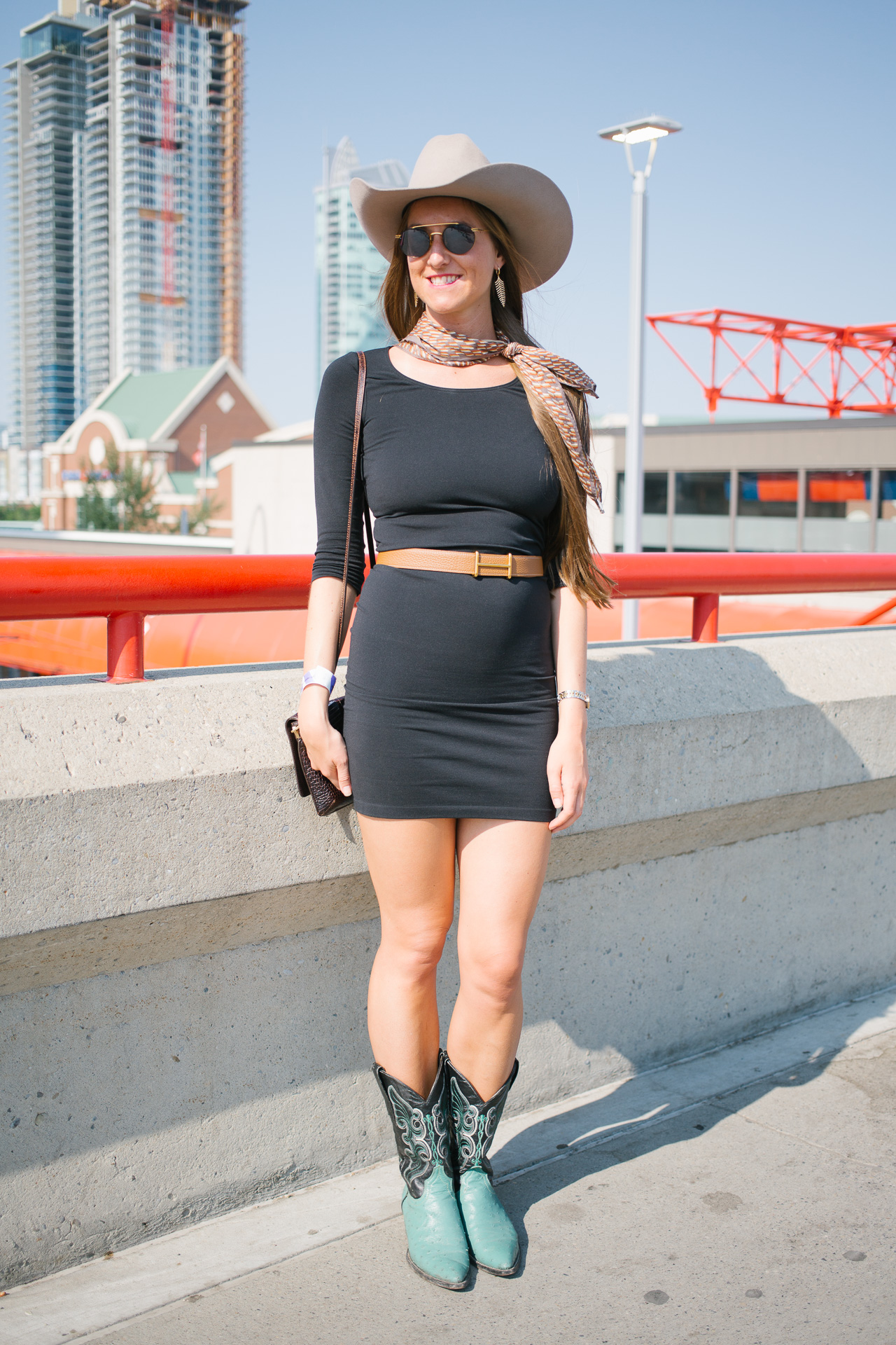 Street Style The 2015 Calgary Stampede Flare