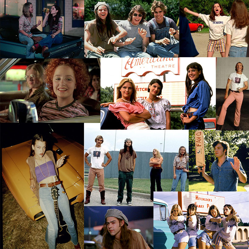 """<p>If you grew up in the '90s, odds are you've seen—and loved—the cult teen stoner flick <em><a href=""""https://www.youtube.com/watch?v=Mvj4Ng6yinA"""" target=""""_blank"""">Dazed and Confused</a></em>. And if you were anything like us, you coveted pretty much every piece of killer '70s attire, from perfectly faded flared jeans to chunky platform clogs.We're channelling that '70s vibe all over again this summer as we anxiously await director Richard Linklater's next movie, <em>Everybody Wants Some</em> (which has been dubbed the """"spiritual sequel"""" to <em>Dazed and Confused,</em>out next April). Who's down for some groovy sartorial inspo?Alright alright alright...</p>"""