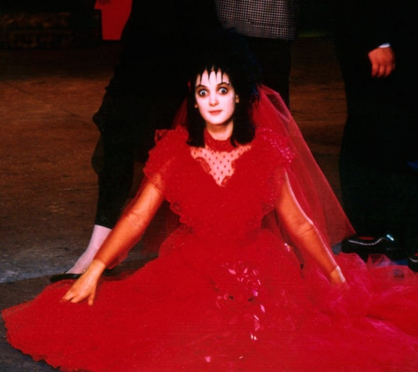 39 90s style inspo winona ryder 39 s all time best movie looks for Lydia deetz wedding dress
