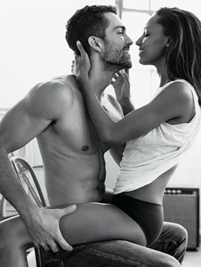 Jasmine and Tobias Get Hella Sexy for Calvin Klein