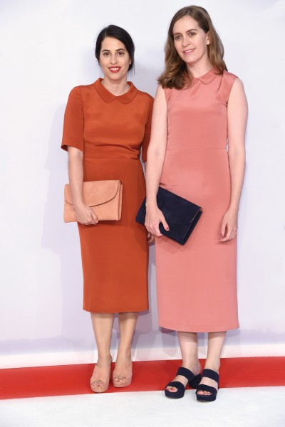 Head-To-Toe: Floriana Gavriel (left) and Rachel Mansur attend the 2015 CFDA Fashion Awards in looks they designed themselves
