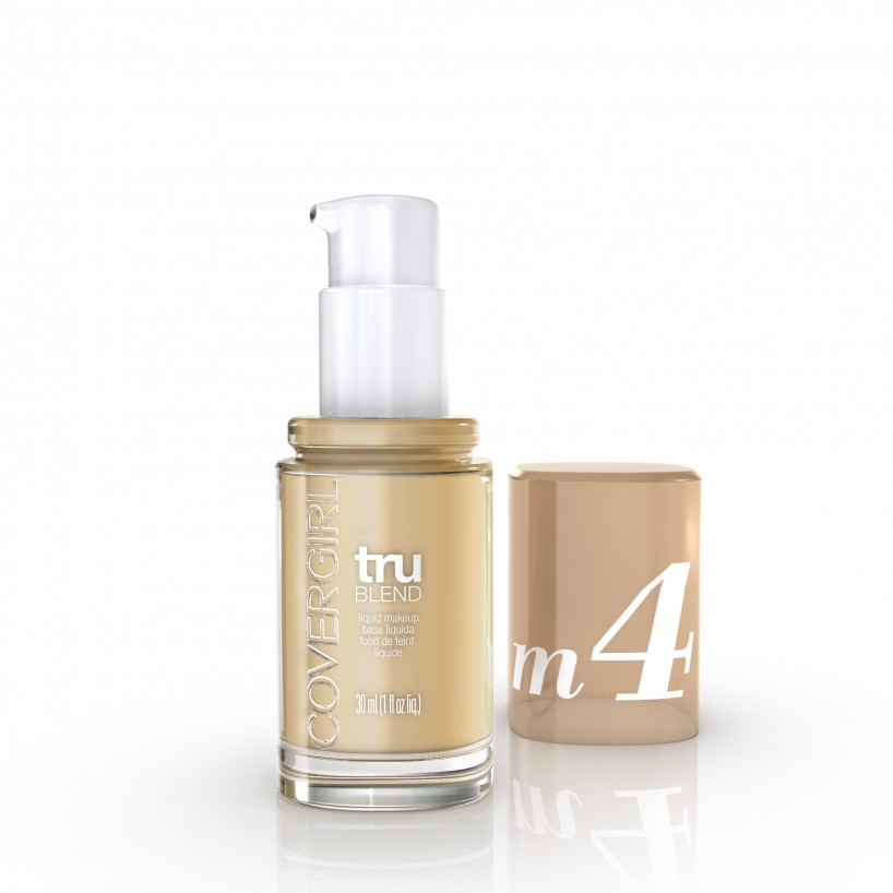 """<p>""""A favourite of mine for a long time, this foundation gives me a flawless finish and adjusts to my skin tone. So if I've been out in the sun and get a bit of colour, I don't have to worry about getting a new shade.""""</p> <p><strong>COVERGIRL</strong> TruBlend Liquid Makeup in Sand Beige, $14</p>"""