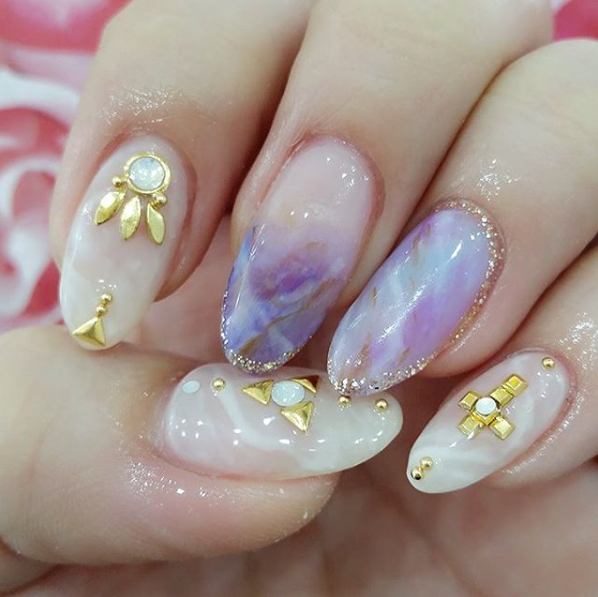 10 salons to follow on insta for korean nail art flare 3 prinsesfo Image collections