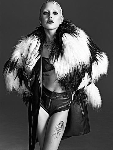 Brooke Candy On Her Music & New M.A.C Collabo