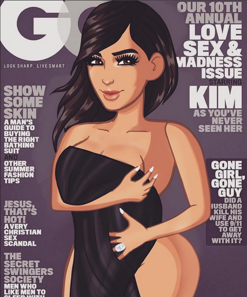 kim kardashian gq interview