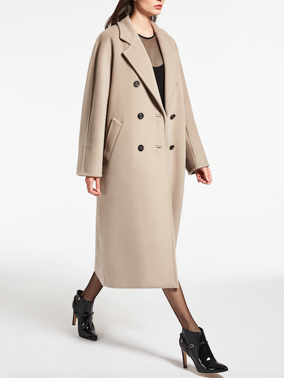 moderate cost how to get classic fit Max Mara Relaunches Iconic Camel Coat With Project 10181
