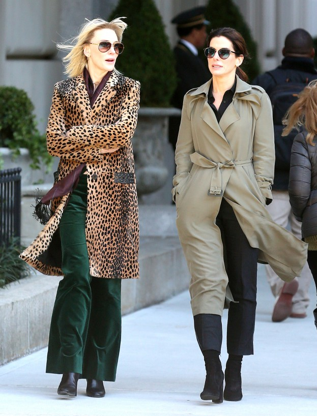 oceans eight set photos
