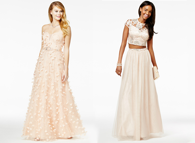 Prom Dresses Macys Say Yes To The