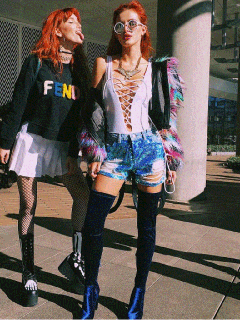<B> Bella's OOTD: Flyin' High With Her Sister </B>