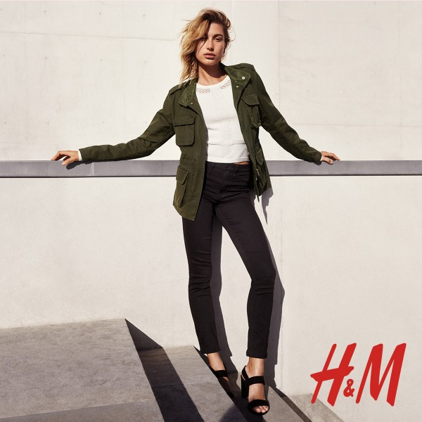Hailey Baldwin's black jeans for the H&M Denim Days campaign cost only $13