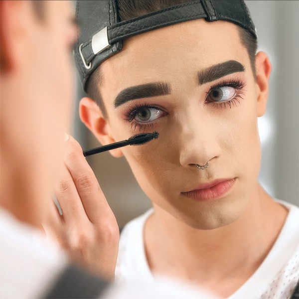 makeup for men James Charles CoverGirl