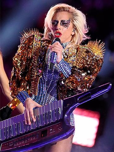 Lady Gaga Super Bowl Makeup: All the details on her glittery look