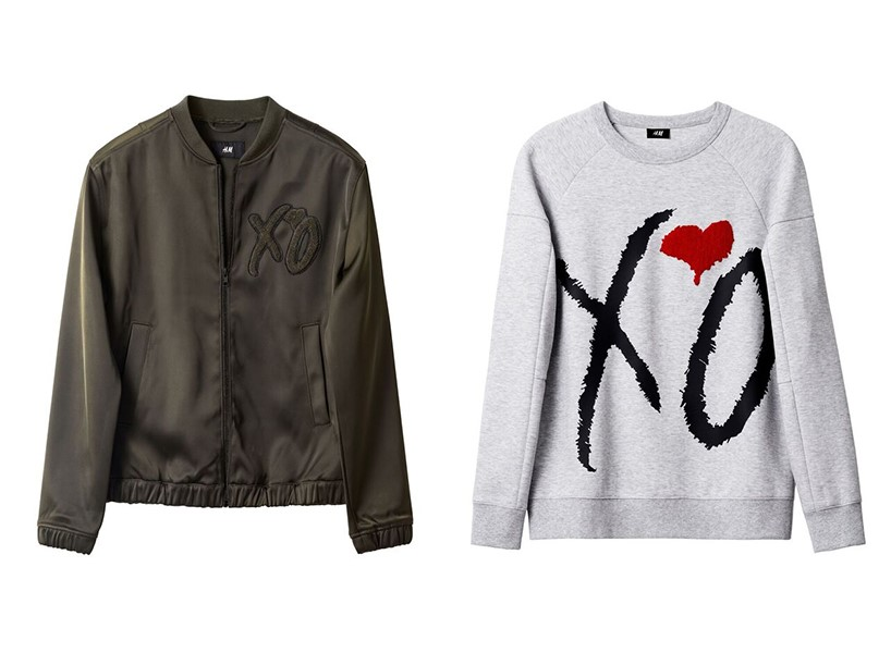The Weeknd H M Collection Features Sweatshirts Erore Basics