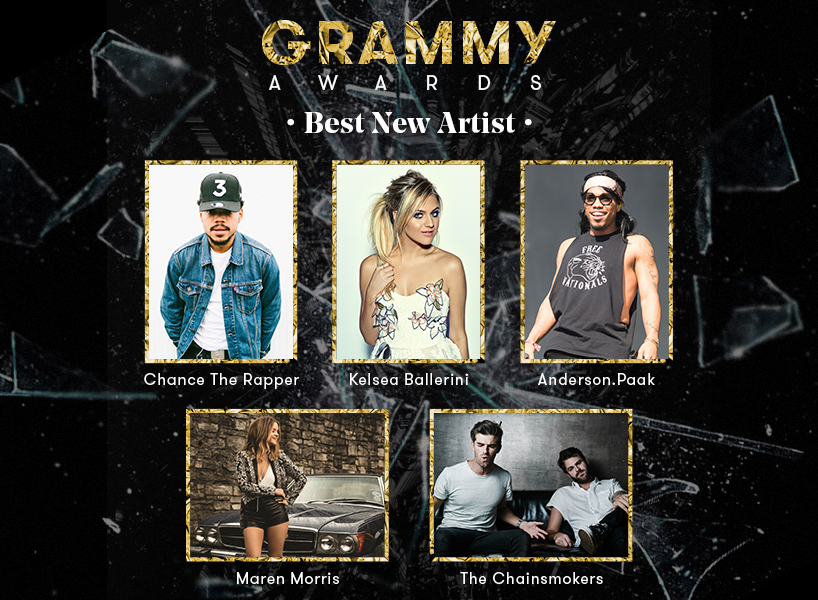 grammys best new artist: who will win the best new artist grammy at the 2017 awards?