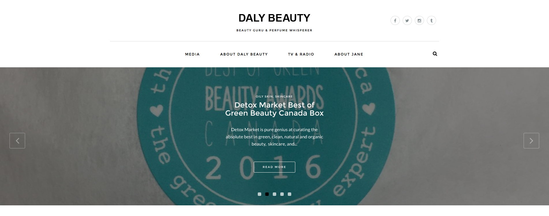 Daly Beauty is one of our favourite Canadian beauty blogs