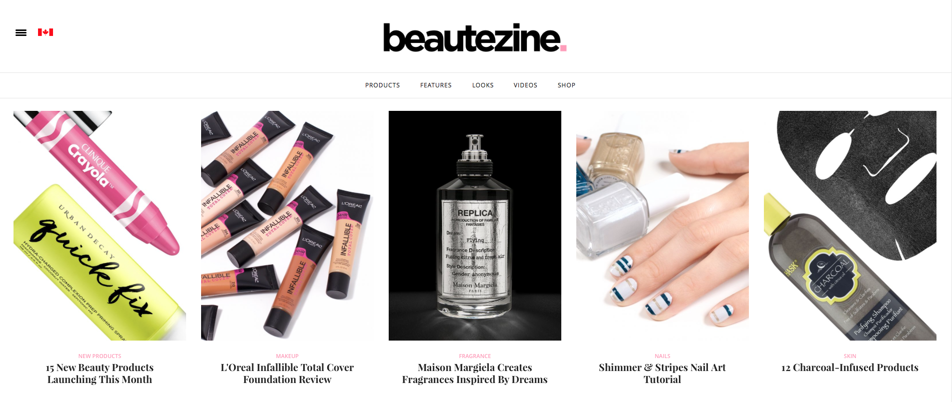 Beautezine, one of our fave Canadian beauty blogs