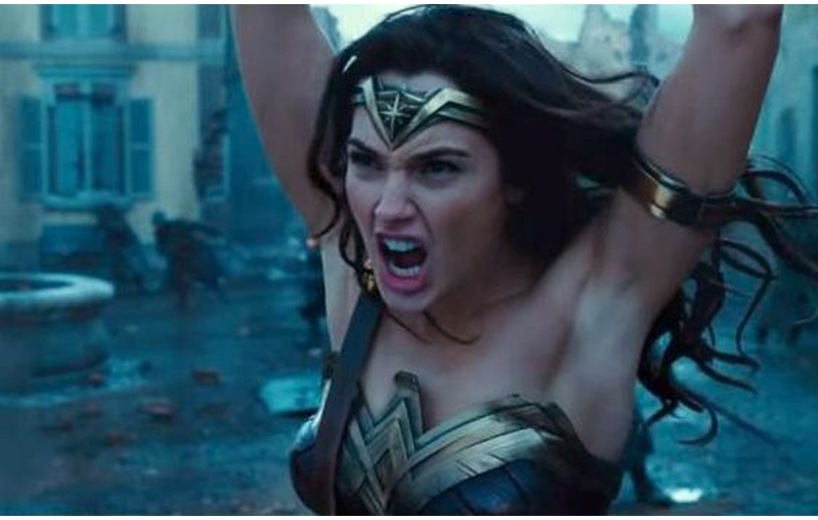 Why Wonder Woman's armpits have so many people up in arms