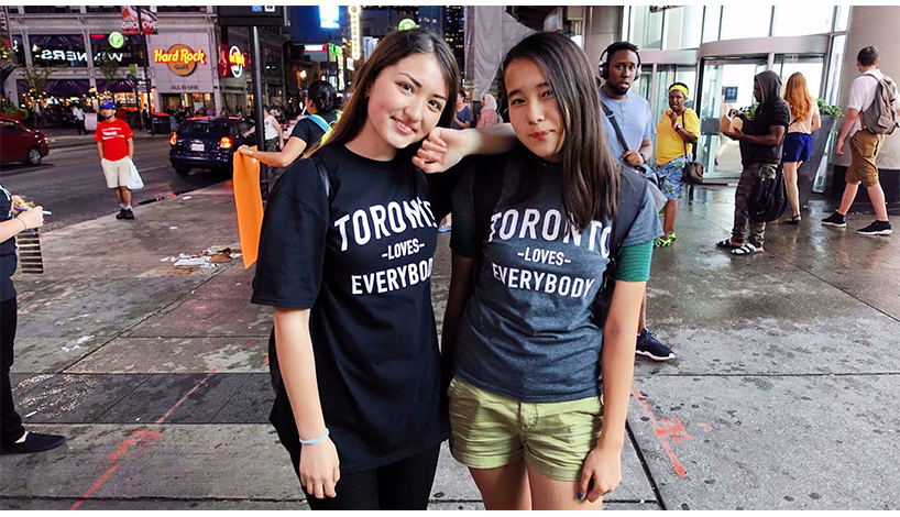 Toronto Loves Everybody tshirts