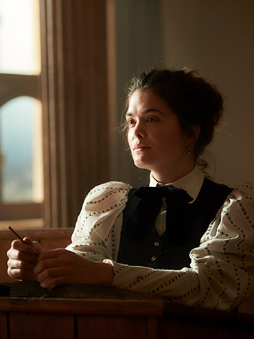 Read our Samantha Colley Interview for more on the actress playing Einstein's first wife in National Geographic's new show 'Genius'; feature image.