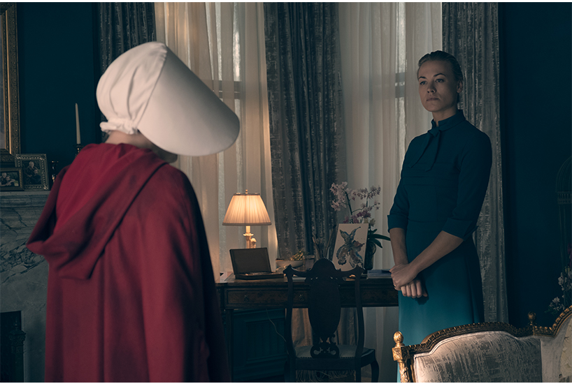 Read our Yvonne Strahovski interview with a star of The Handmaid's Tale; inline image 1