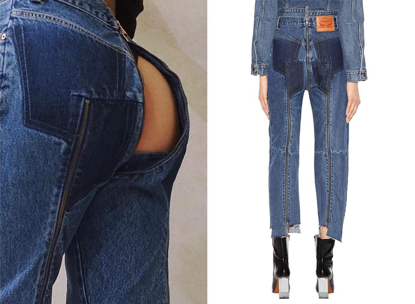 These Levis Vetements jeans are the latest in the slew of ugly denim trends