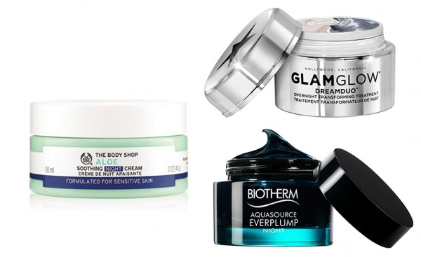 Anti-Aging Skincare night cream products that won't cause breakouts