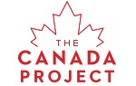 The Canada Project: A Red maple leaf logo.