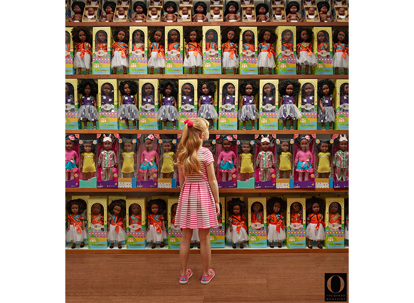 """In our Chris Buck interview, we chat with the photographer about his 'O, The Oprah Magazine' photo essay entitled """"Let's Talk About Race""""; inline image 2."""