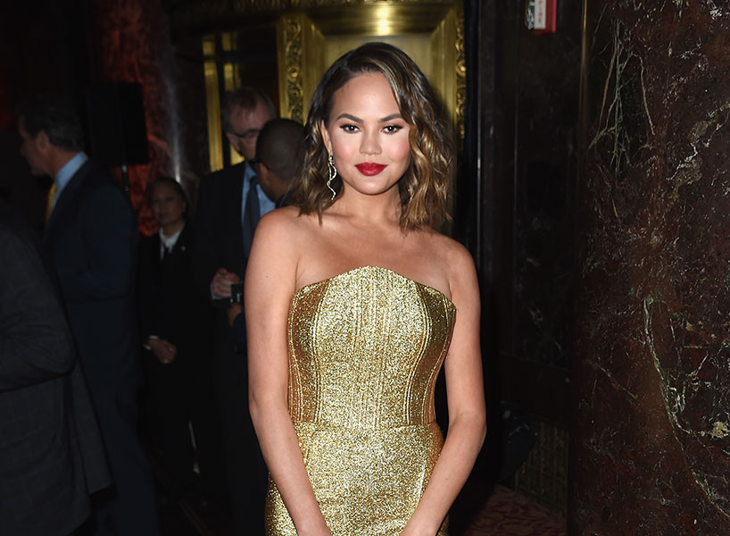 Chrissy Teigen on plastic surgery is the refreshing celebrity revelation we all needed; inline image