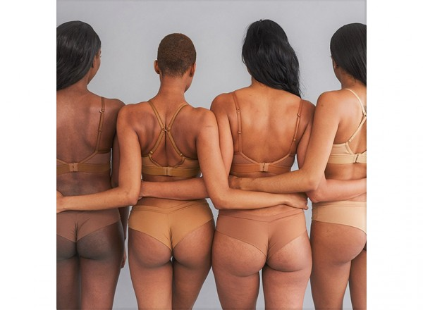 Love & Nudes: four women modelling Love & Nudes collection.