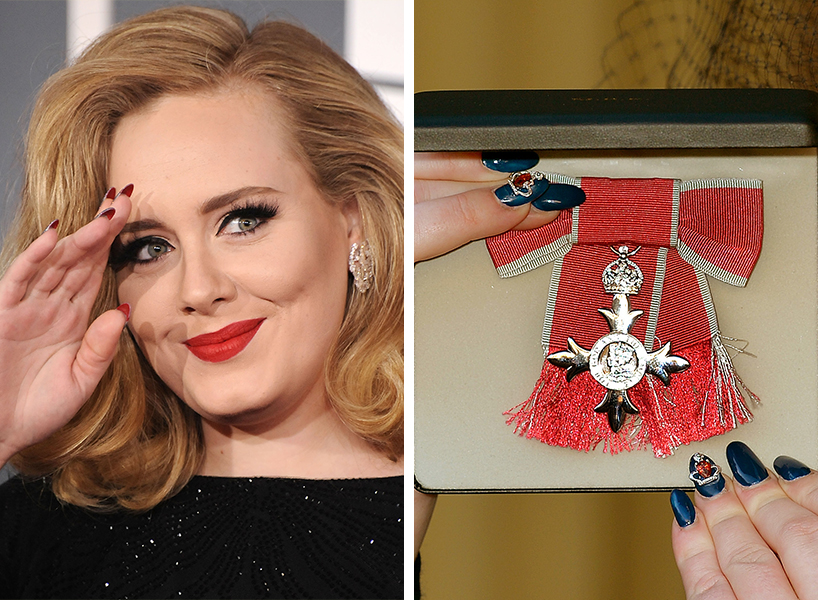 It's Adele's birthday, and we're celebrating her bomb nails