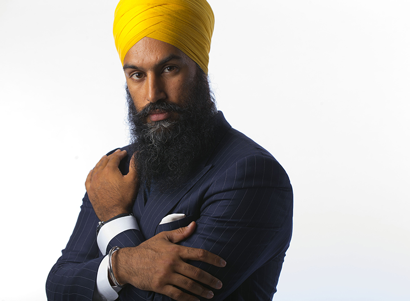 Jagmeet Singh Instagram: Jagmeet Singh, Deputy Leader for the Ontario NDP. Aparita Bhandari is bringing 5 fashionable Indian men to the Star for a photo shoot in the studio of them together, and individually. (Chris So/Toronto Star via Getty Images)