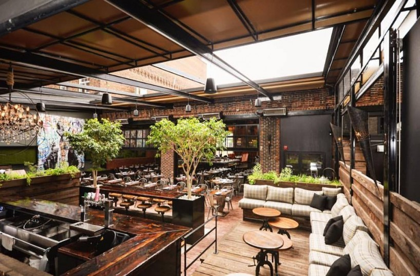 Montreal's Le Richmond is one of our top picks for the best patios in Canada