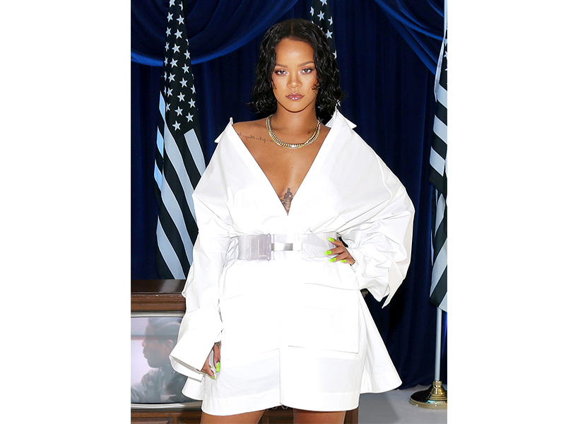 Rihanna Is Calling World Leaders to Action—& Twitter Wants Her to Be President