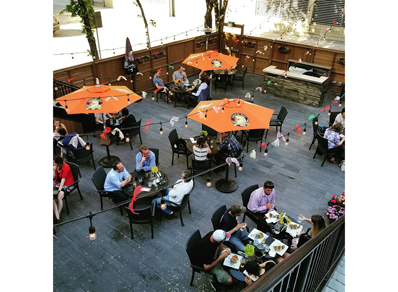 Winnipeg's La Roca is one of our top picks for the Best Patios in Canada