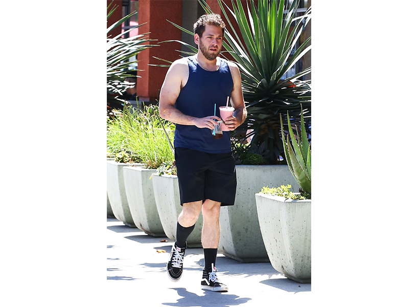 Jonah Hill looks very slim in a tank top in this photo, which has sparked a lot of conversation of his work