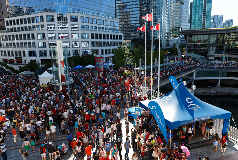 Vancouver's Canada 150 celebrations is on our list for the Best Canada Day long weekend activities