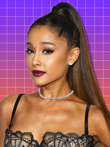 We narrowed down some of our fave celeb pony tail styles that will for sure give you major hair inspo, including this chic look from Ariana Grande.