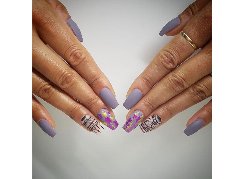 Calgary's Mint Nails & Spa Lounge is one of our top picks for the best nail art in Canada