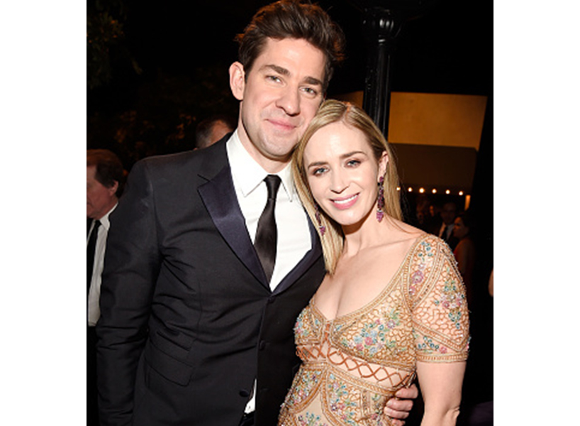 John Krasinski Emily Blunt Wedding.John Krasinski And Emily Blunt 5 Times He Shouted Her Out