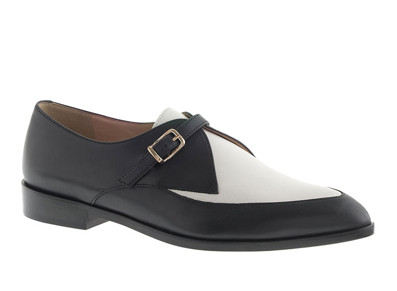 These J. Crew two tone loafers are a modern way to wear Seinfeld 90s fashion like Elaine's Botticellis